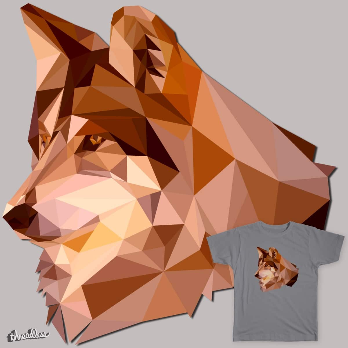 Calm Wolf by Skyjack23 on Threadless