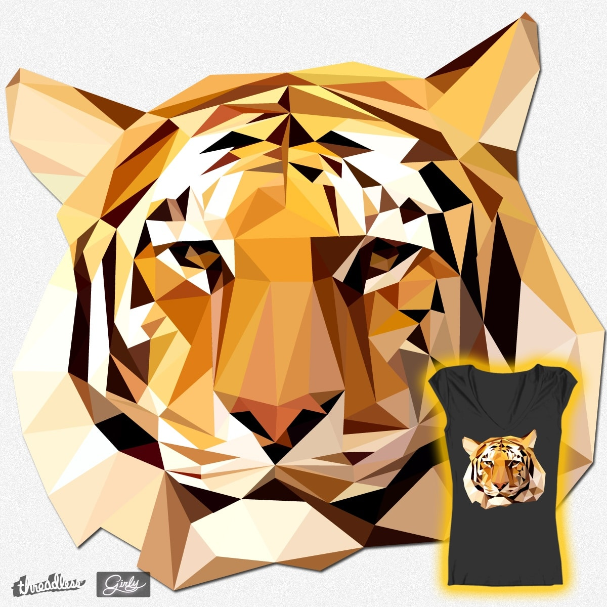 Tiger, Tiger, Burning Bright by Skyjack23 on Threadless