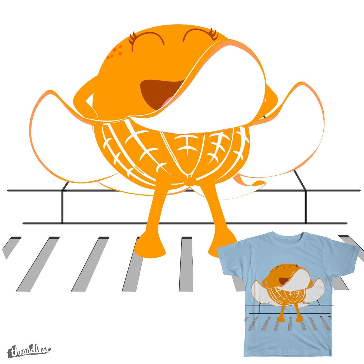 Orange Seven-Year Itch by OneWeirdDude on Threadless