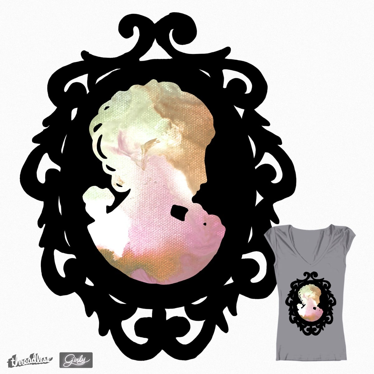 Colorful Cameo by rachelzed on Threadless