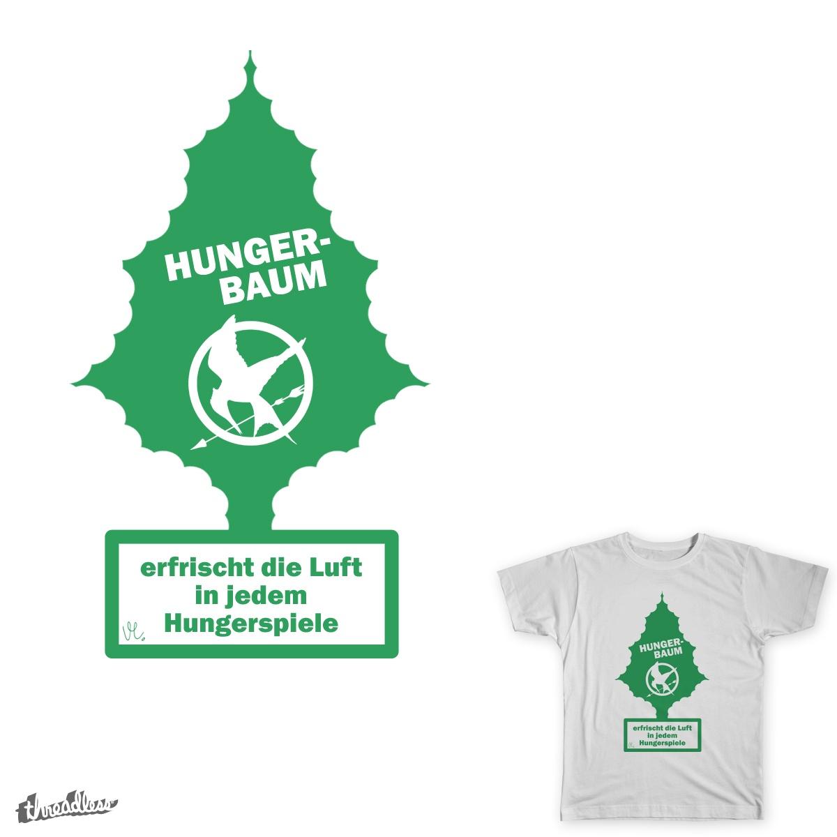 Hunger-Baum by Insane-kismanO on Threadless