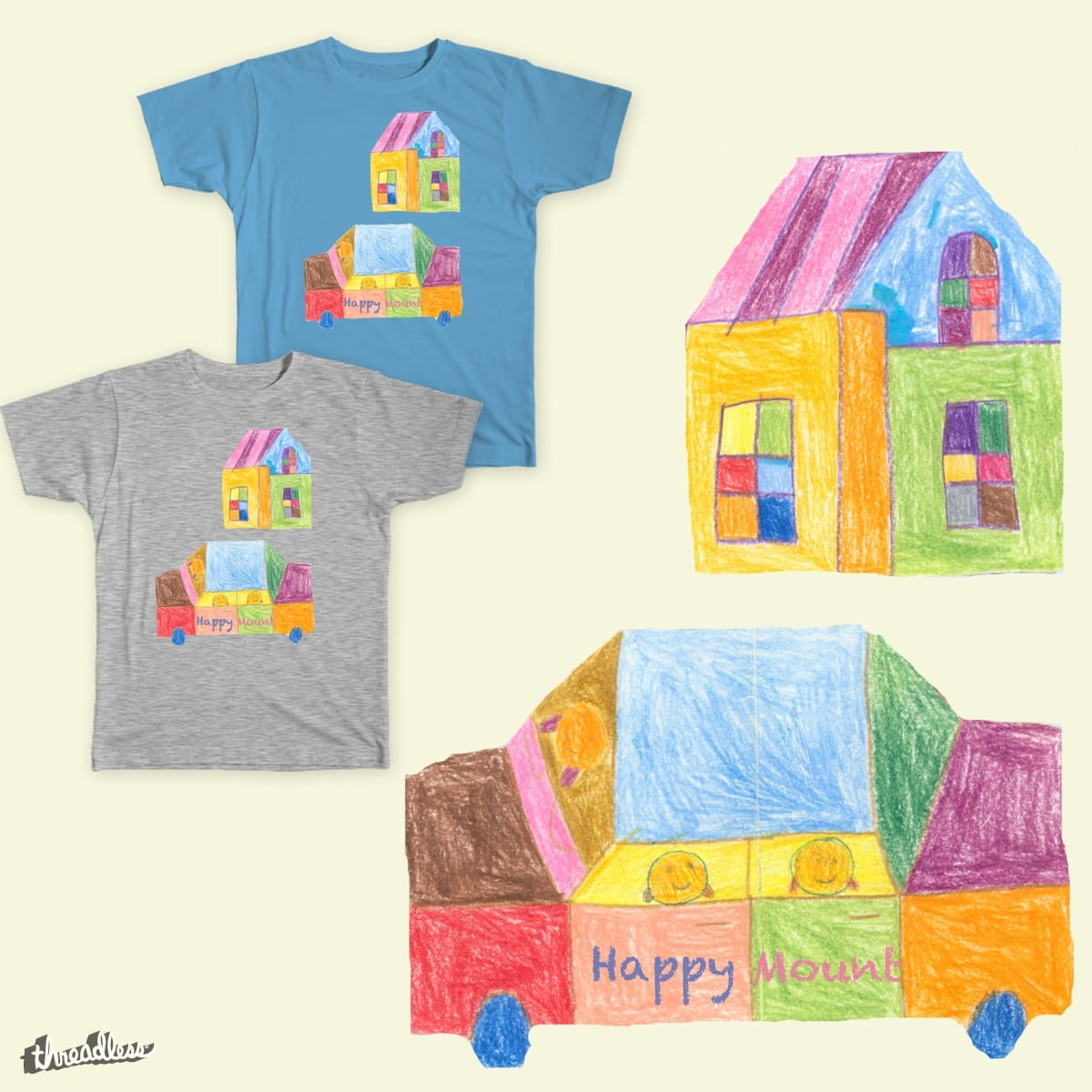 Forever a kid by benshieh0613 on Threadless