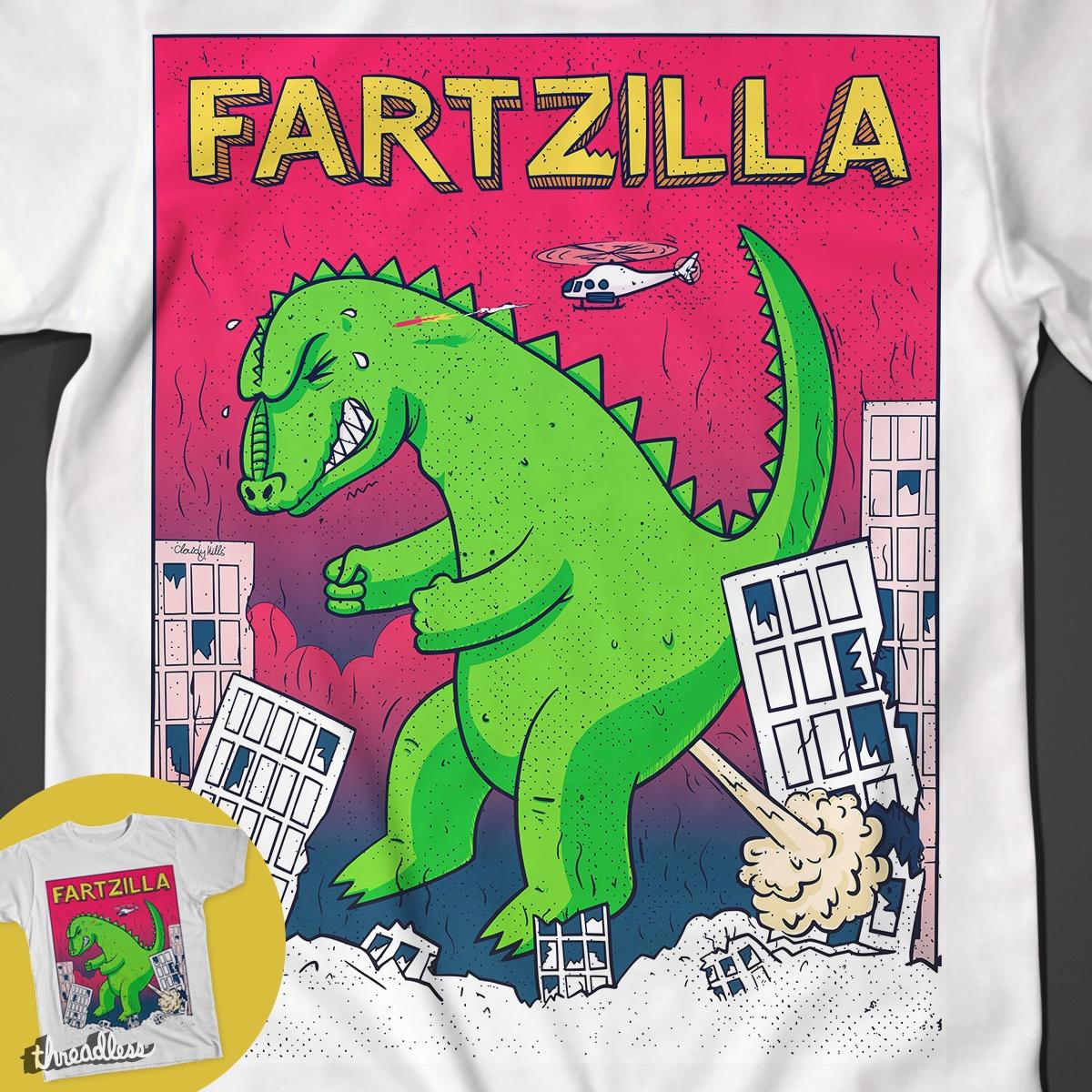 Fartzilla by FatMax on Threadless