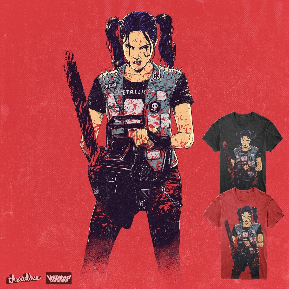 Zombie slayer by digitalcarbine on Threadless
