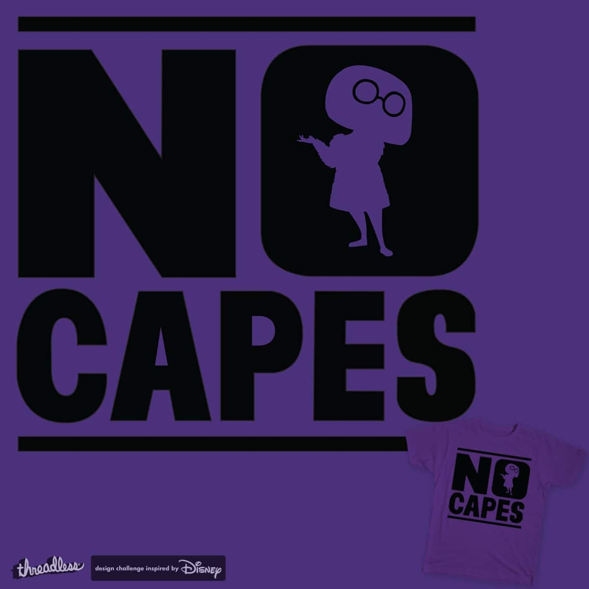 NO CAPES by Johnneh on Threadless
