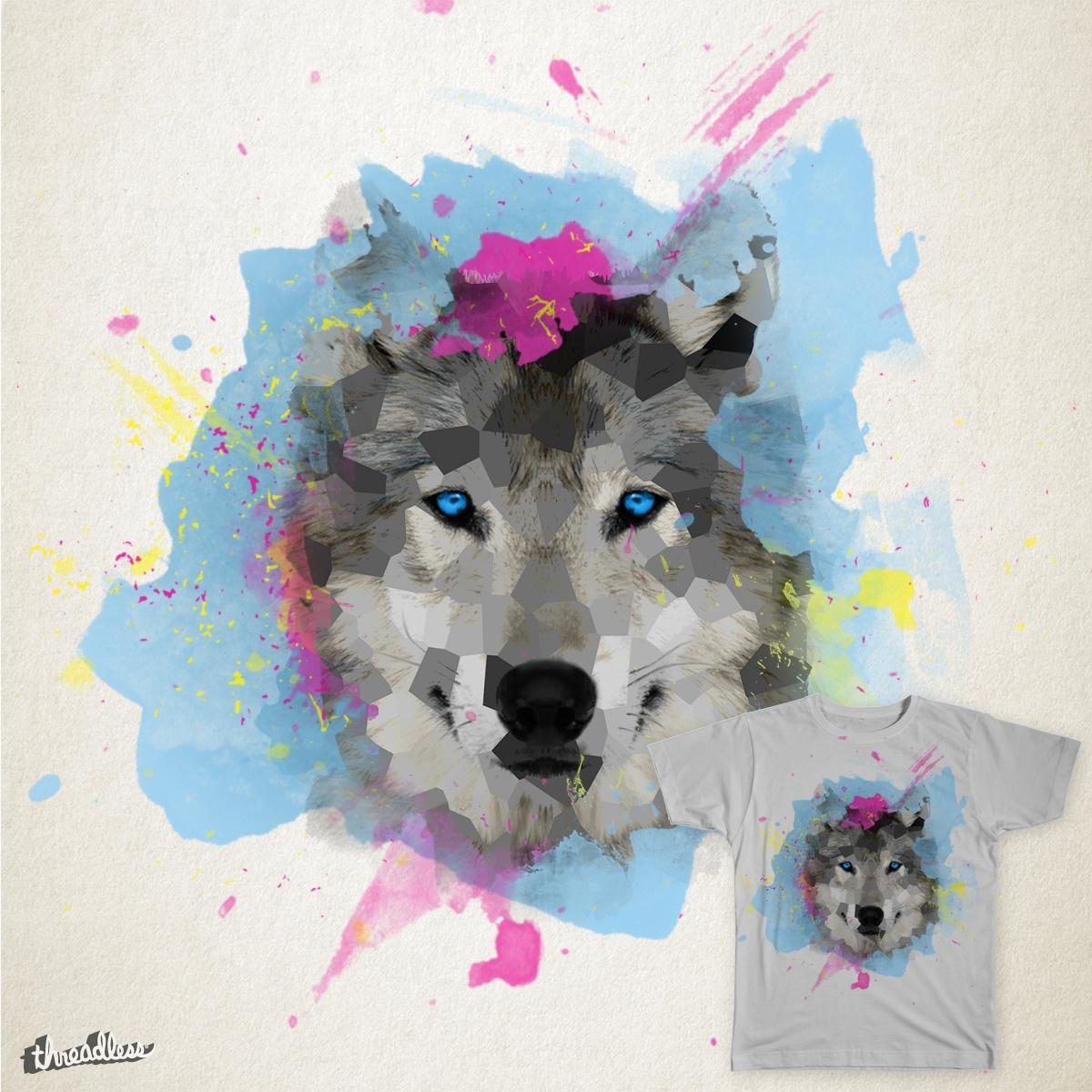 Wolf by YehiaDandees on Threadless