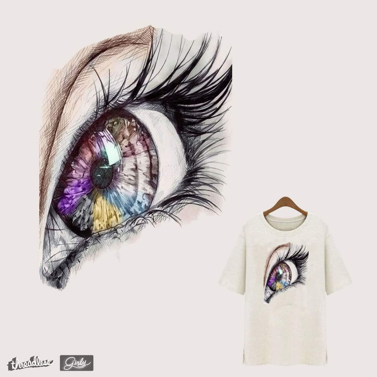 EYE OF THE DREAM by Jerry-Qin on Threadless