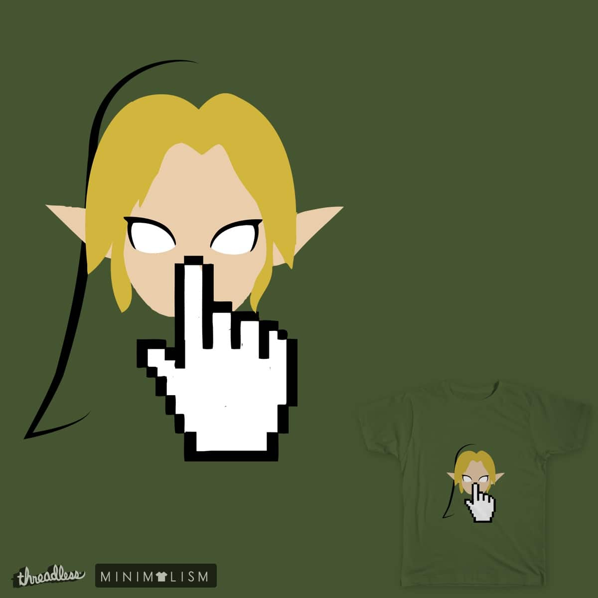 Please open the link below to an adventure by deividyhertz on Threadless