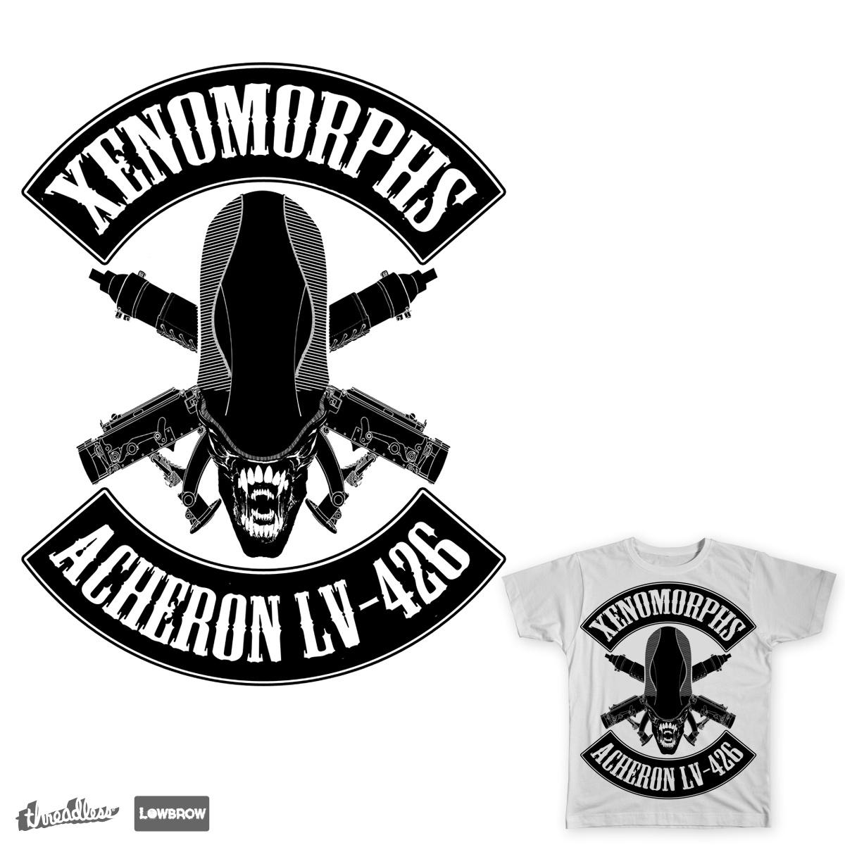 Xenomorphs by chrismckirdy on Threadless