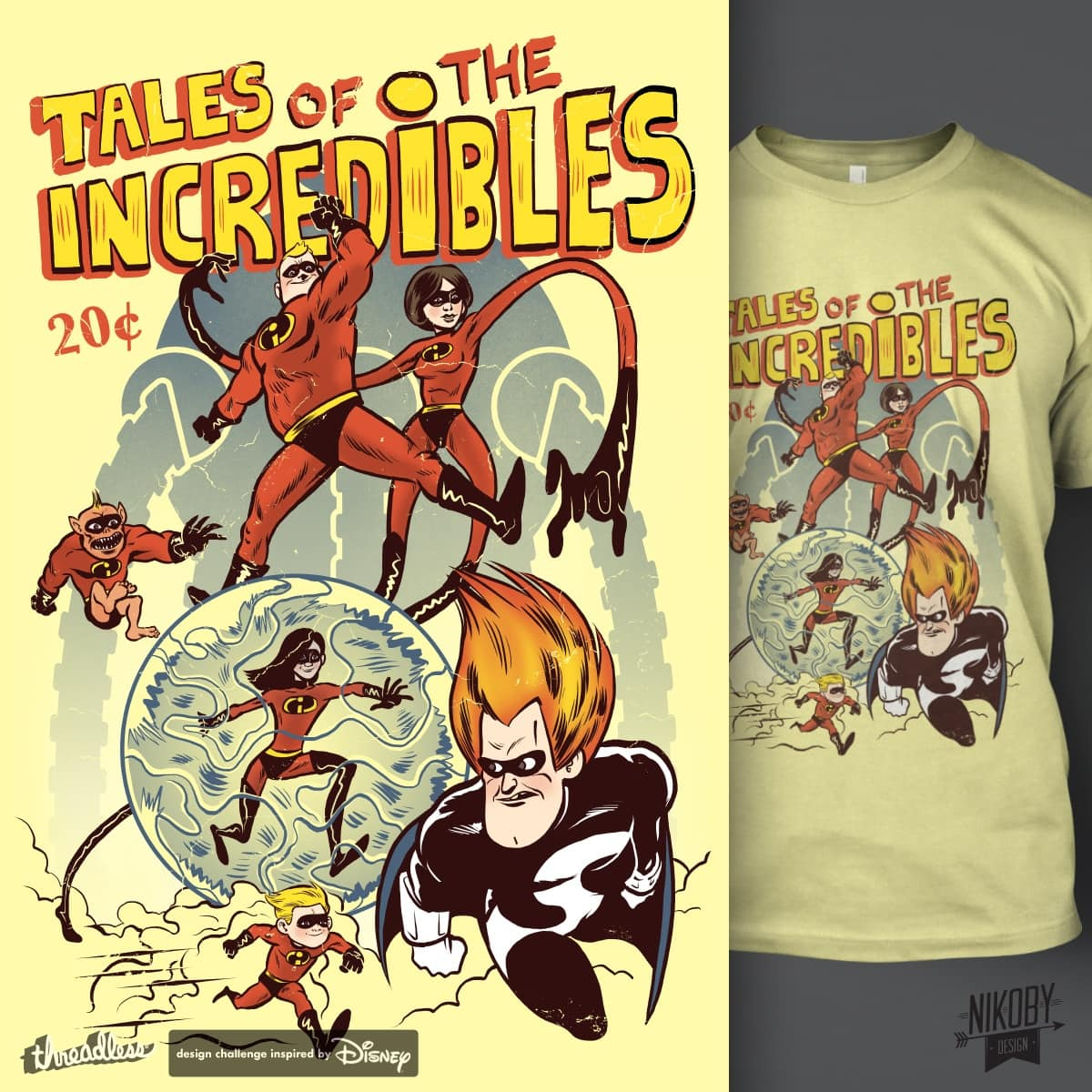 Tales of The Incredibles by nikoby on Threadless