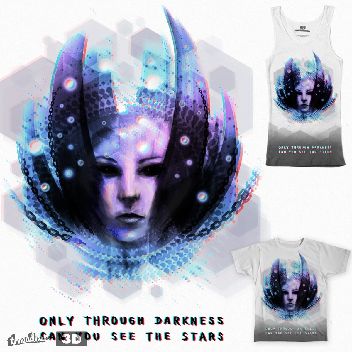 Through the Darkness by LindenX on Threadless