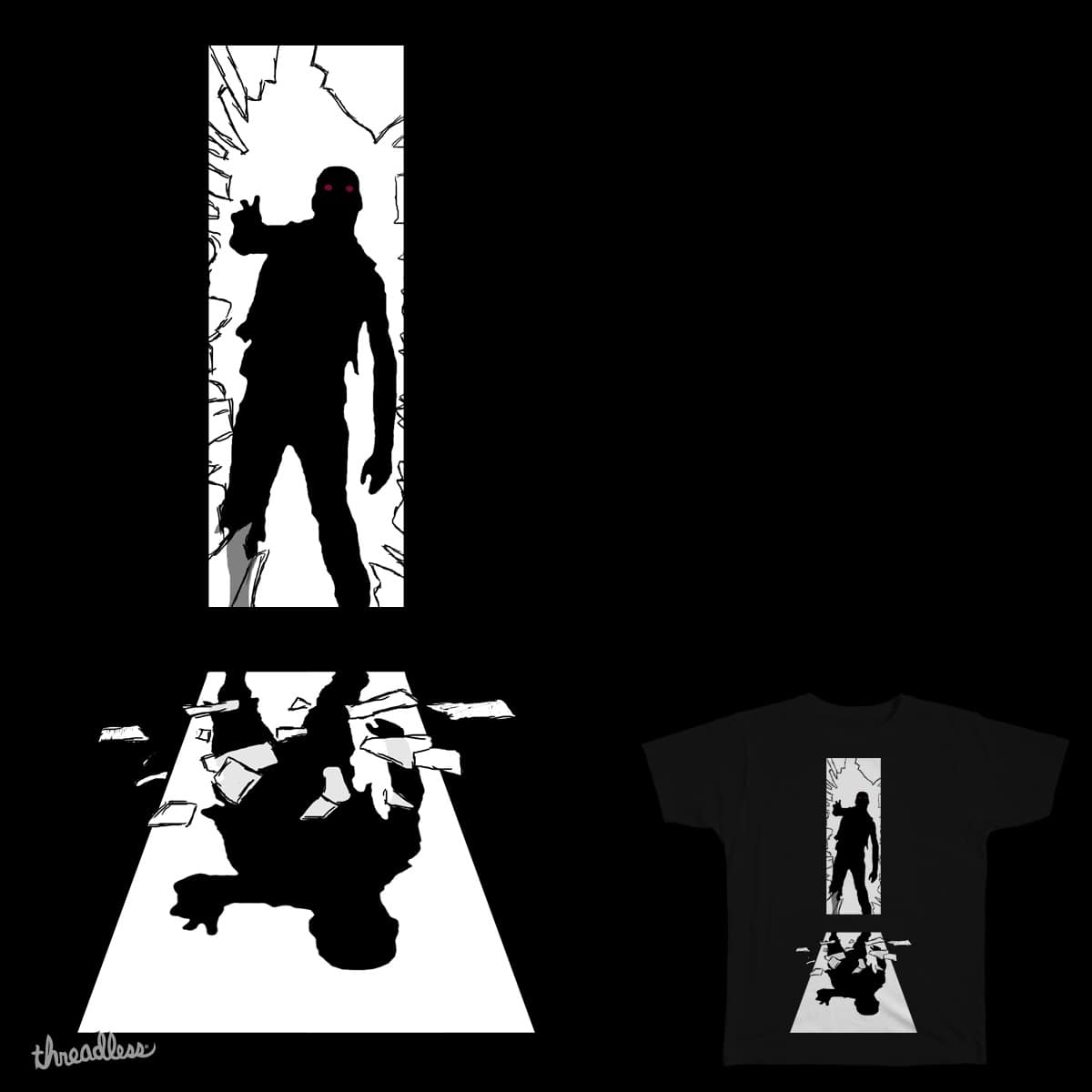 Zombie by CORSAC on Threadless