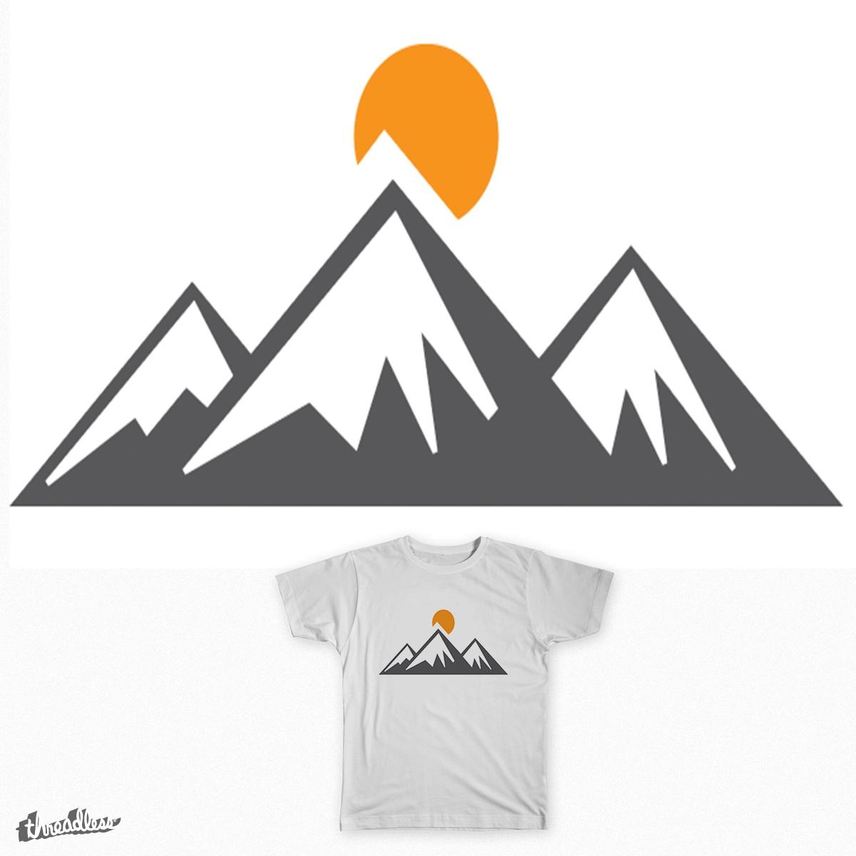 Mountain by Gentjunkie on Threadless