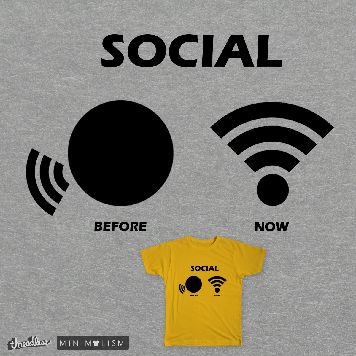 Social by GeorgiDukov on Threadless