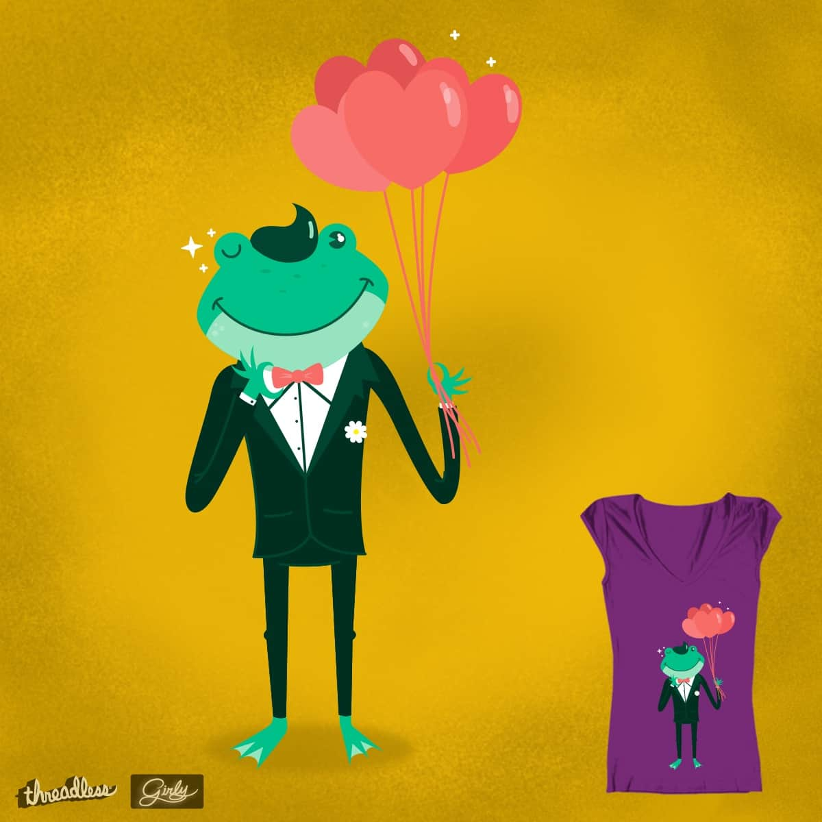 Love Frog by carrysb on Threadless