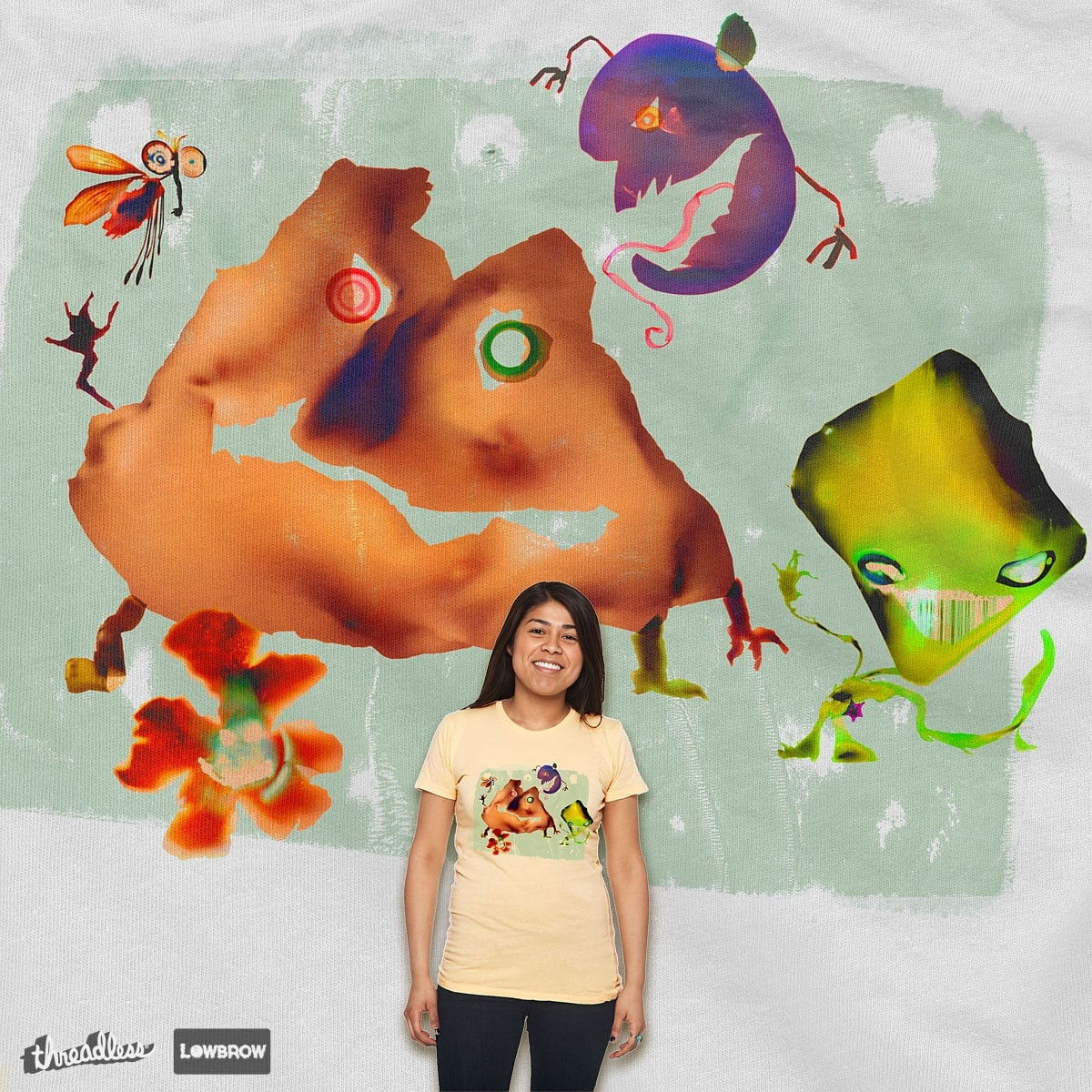 The Fabulous Filthy Five by Manupix on Threadless