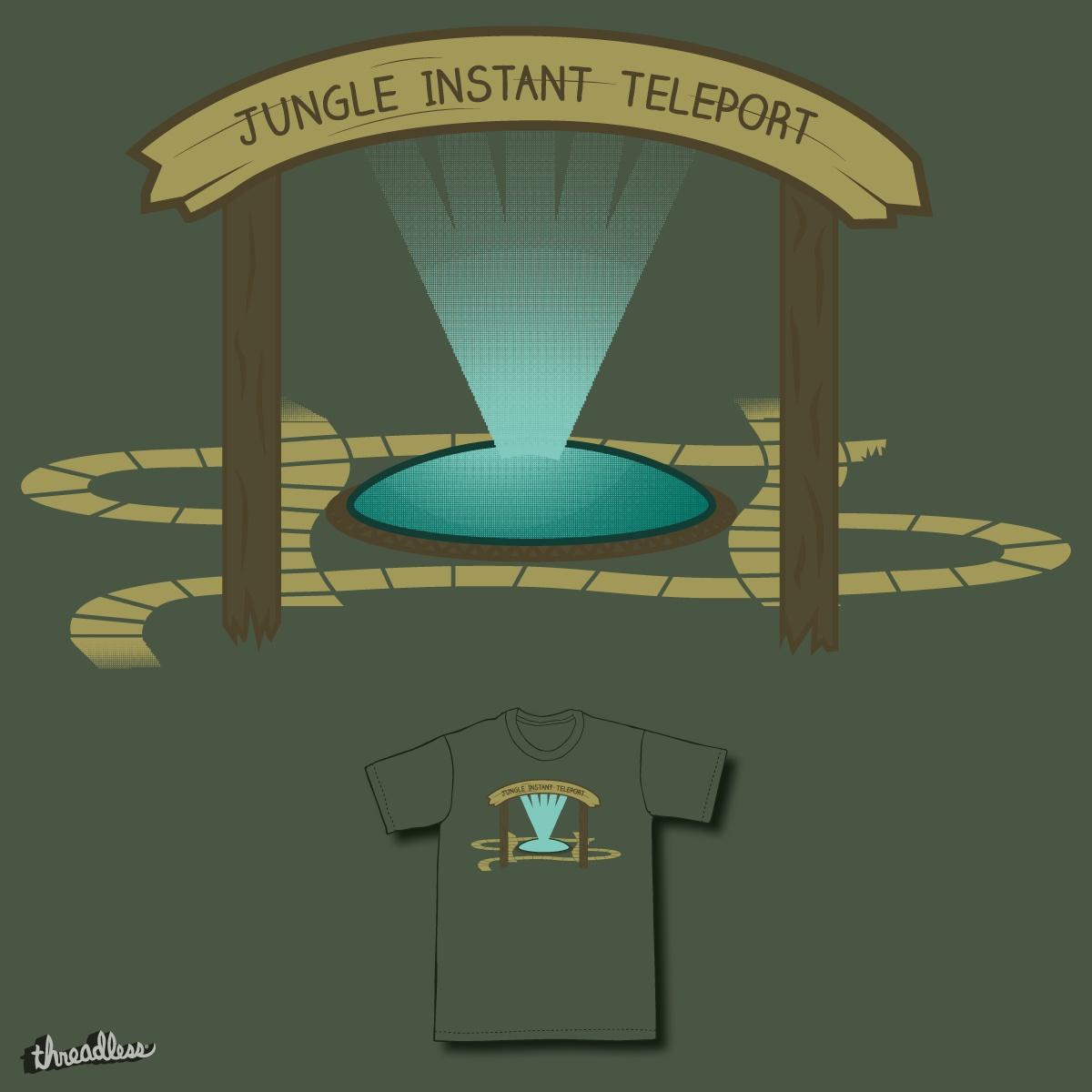 Jungle instant teleport by ntesign on Threadless
