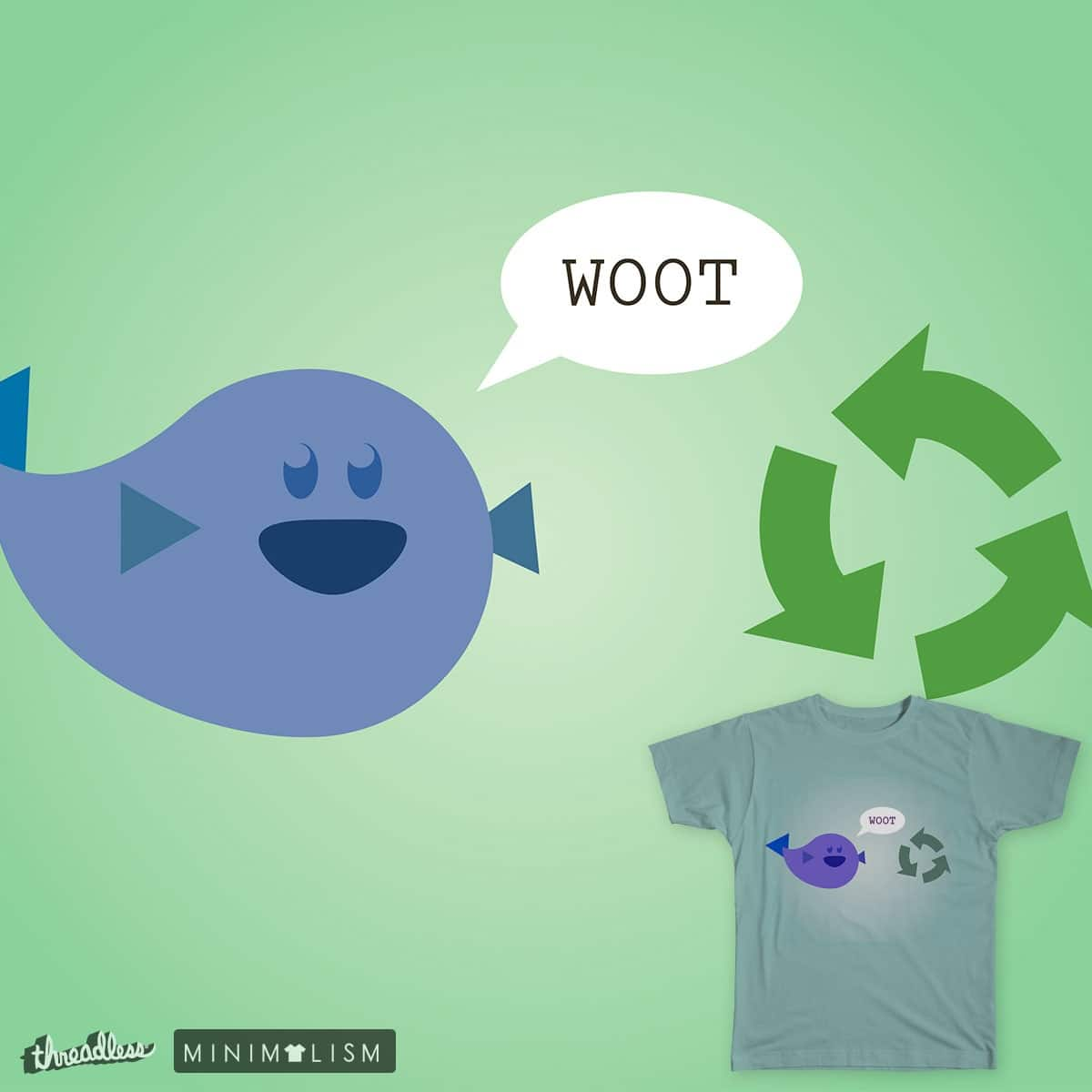Fishcycling by shanefreeman on Threadless