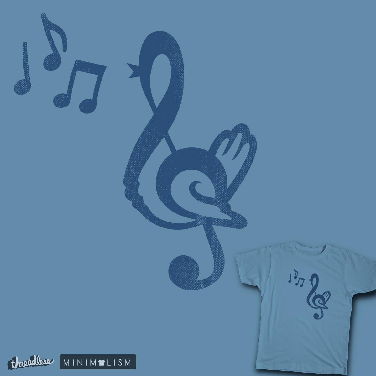 Songbird by TheTofuCube on Threadless