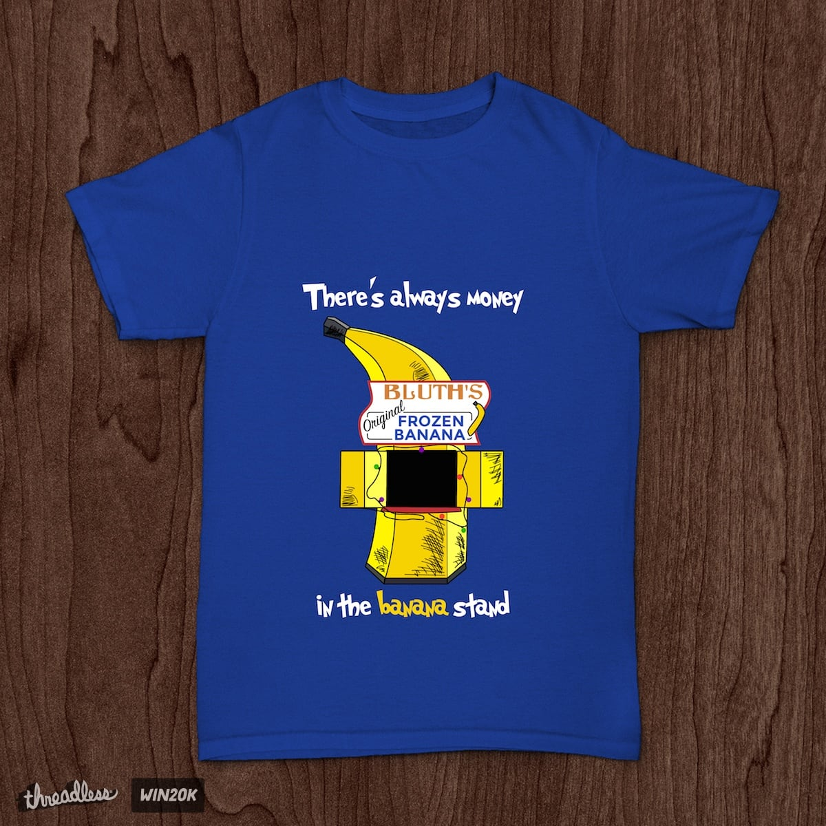 There's always money in the banana stand by jgvandehey on Threadless