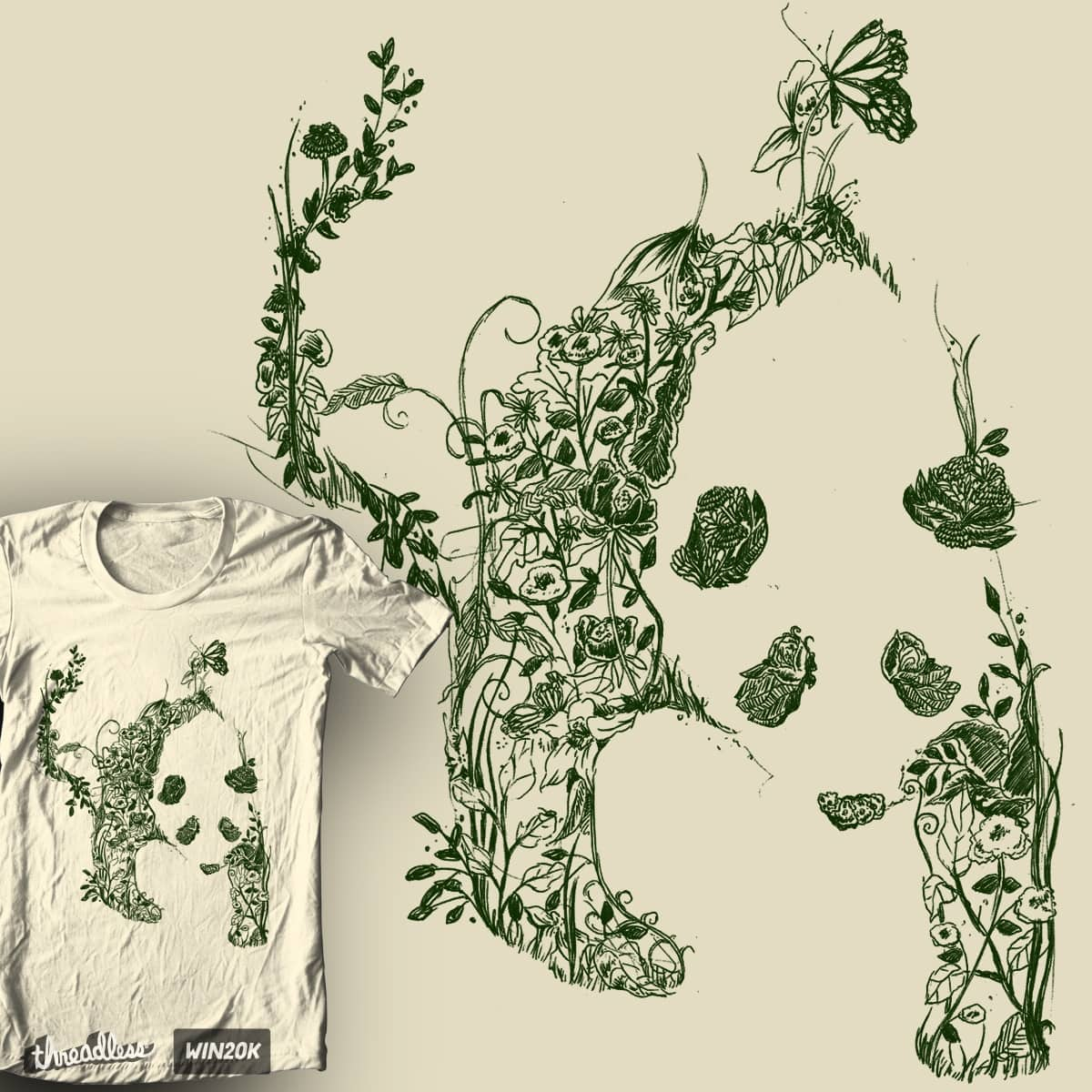 Sketch of Nature by tobiasfonseca on Threadless
