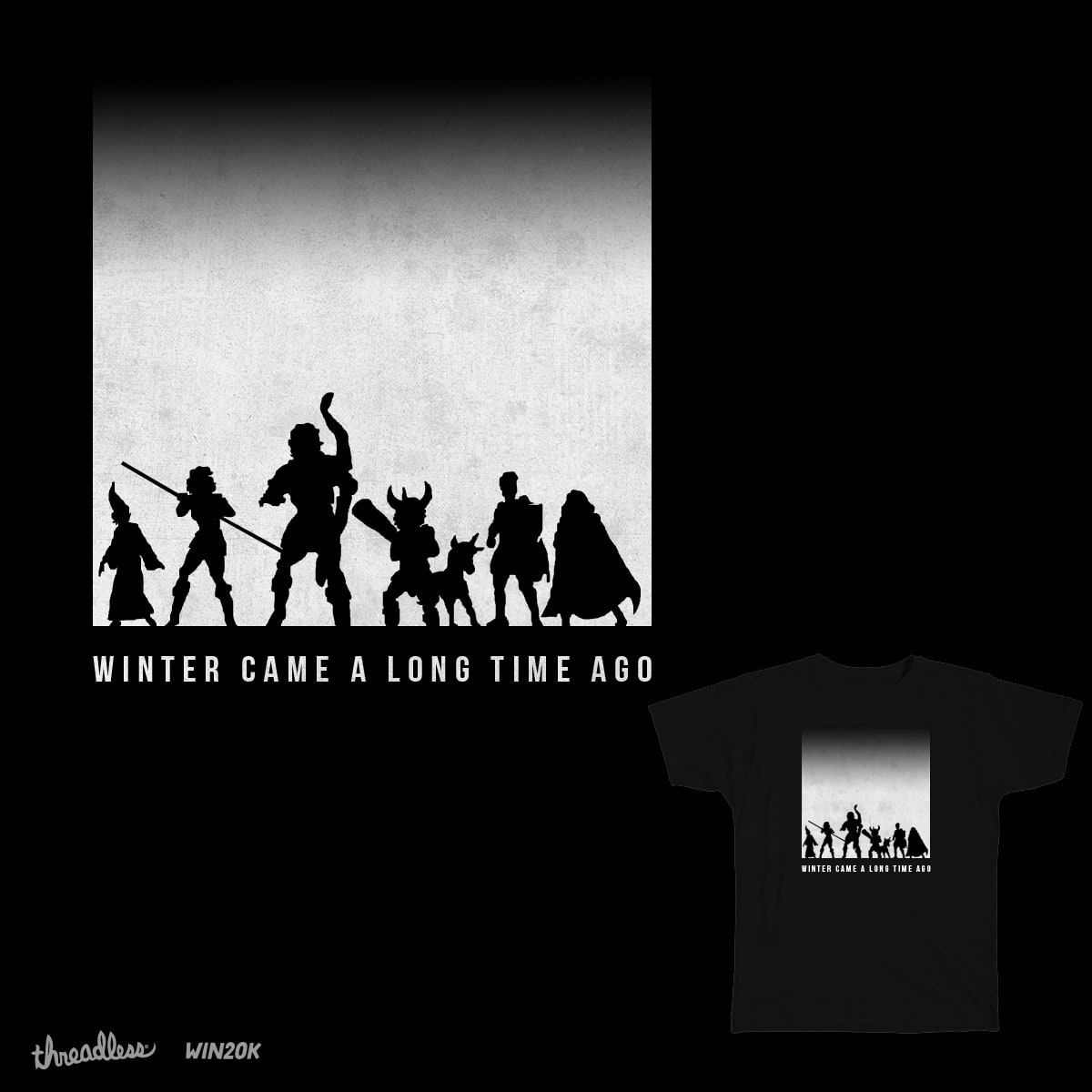 Winter Came a Long Time Ago by dyljos on Threadless