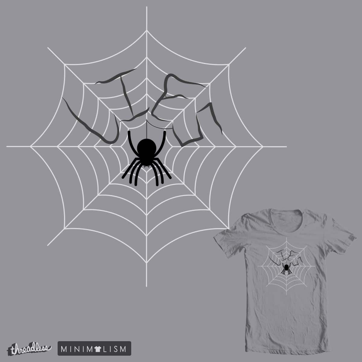 Web Of Lies by Queeg500 on Threadless