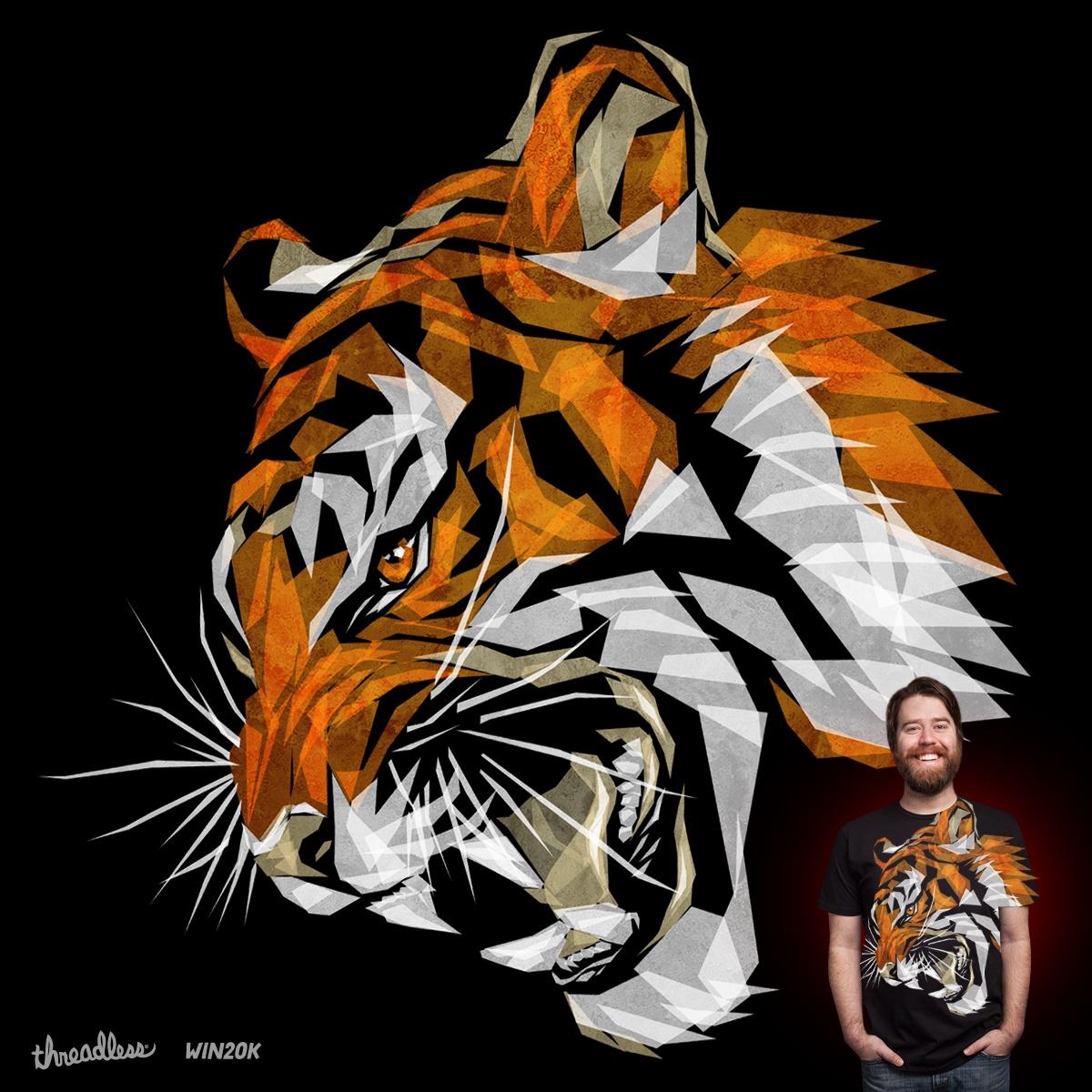 Tiger's Growl by Joe Conde on Threadless