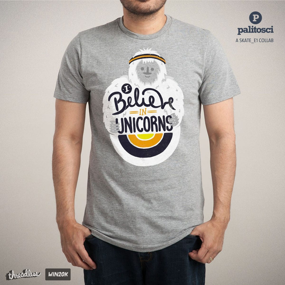 I believe in Unicorns by palitosci and Skate_e1 on Threadless