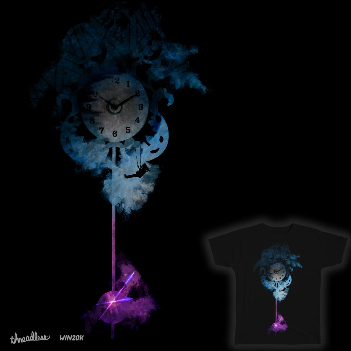 The Sway of Time by czakrzewski on Threadless