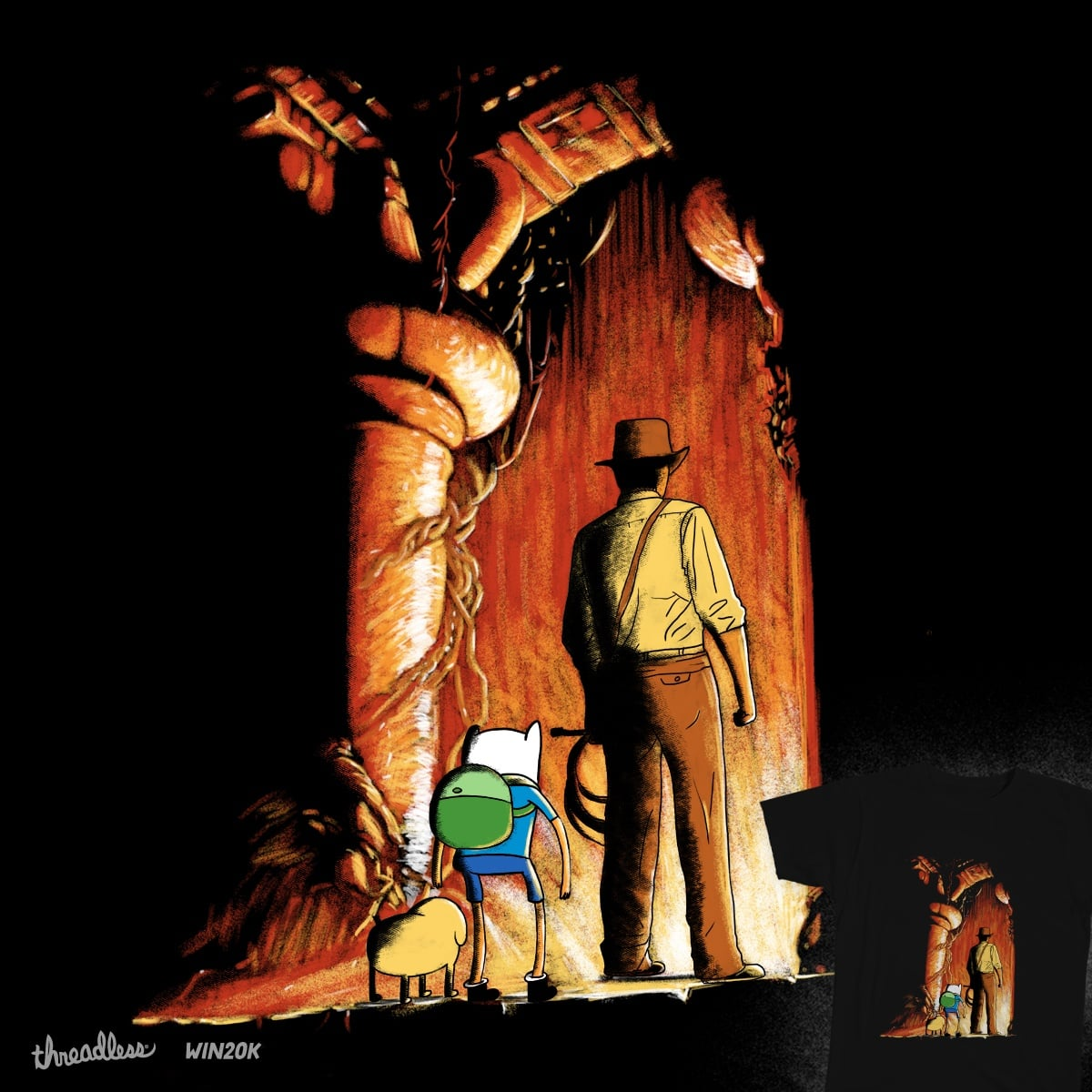 Adventure With Master by Calvin Wu on Threadless