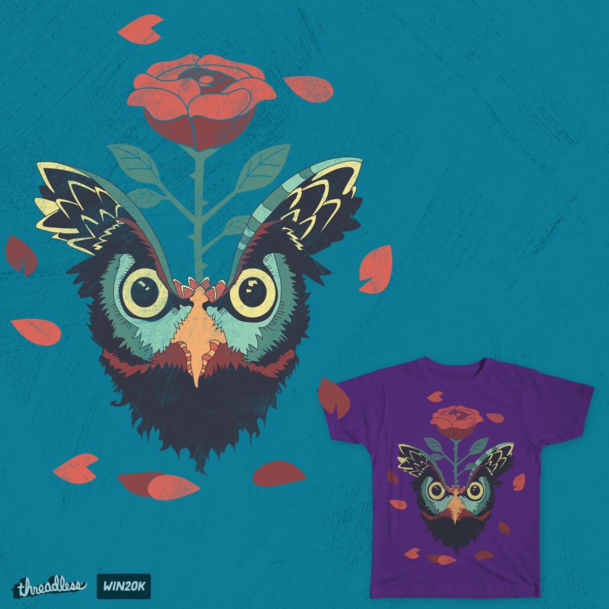 Wise Rose by MattPye on Threadless