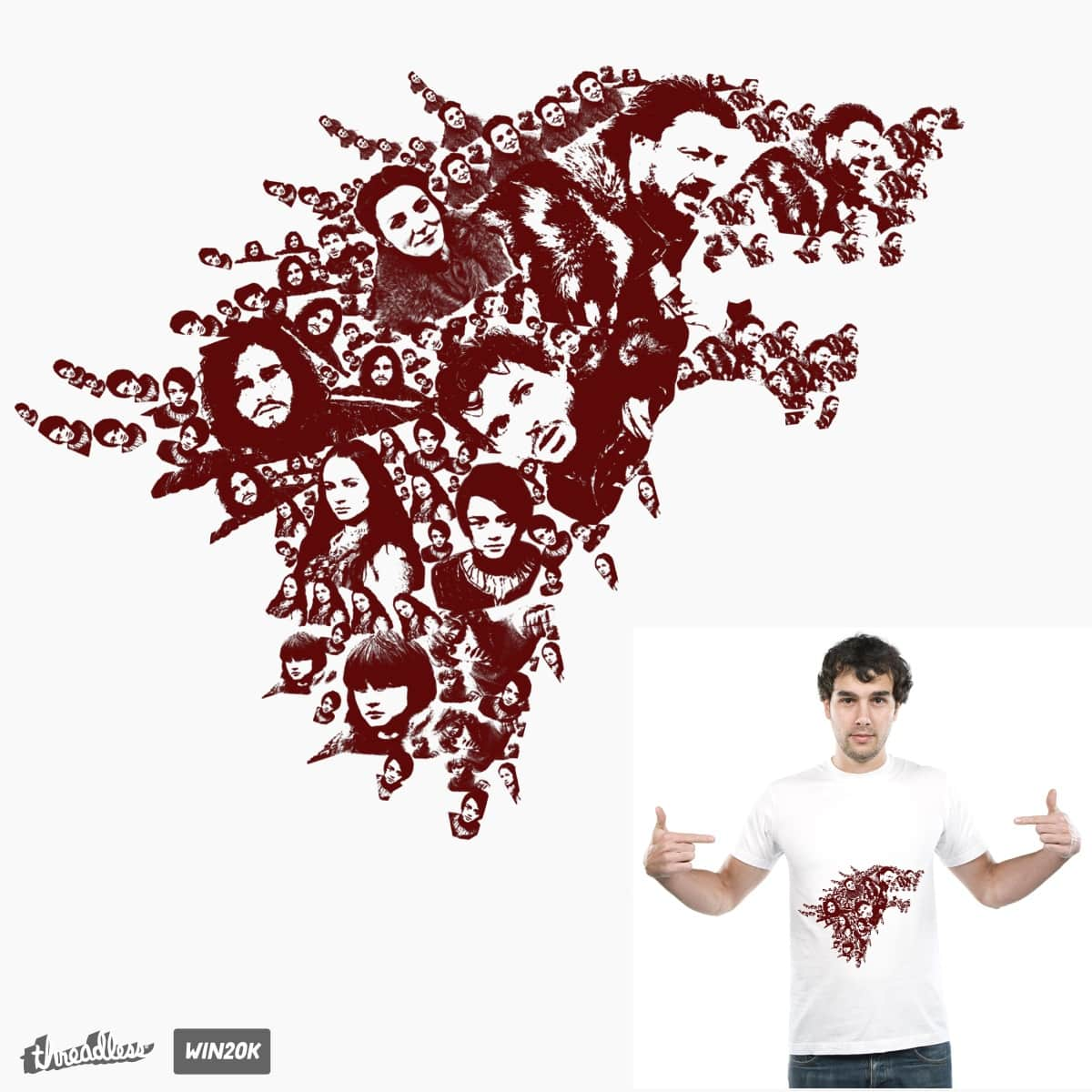 winter is coming  by natarajan_dinesh on Threadless