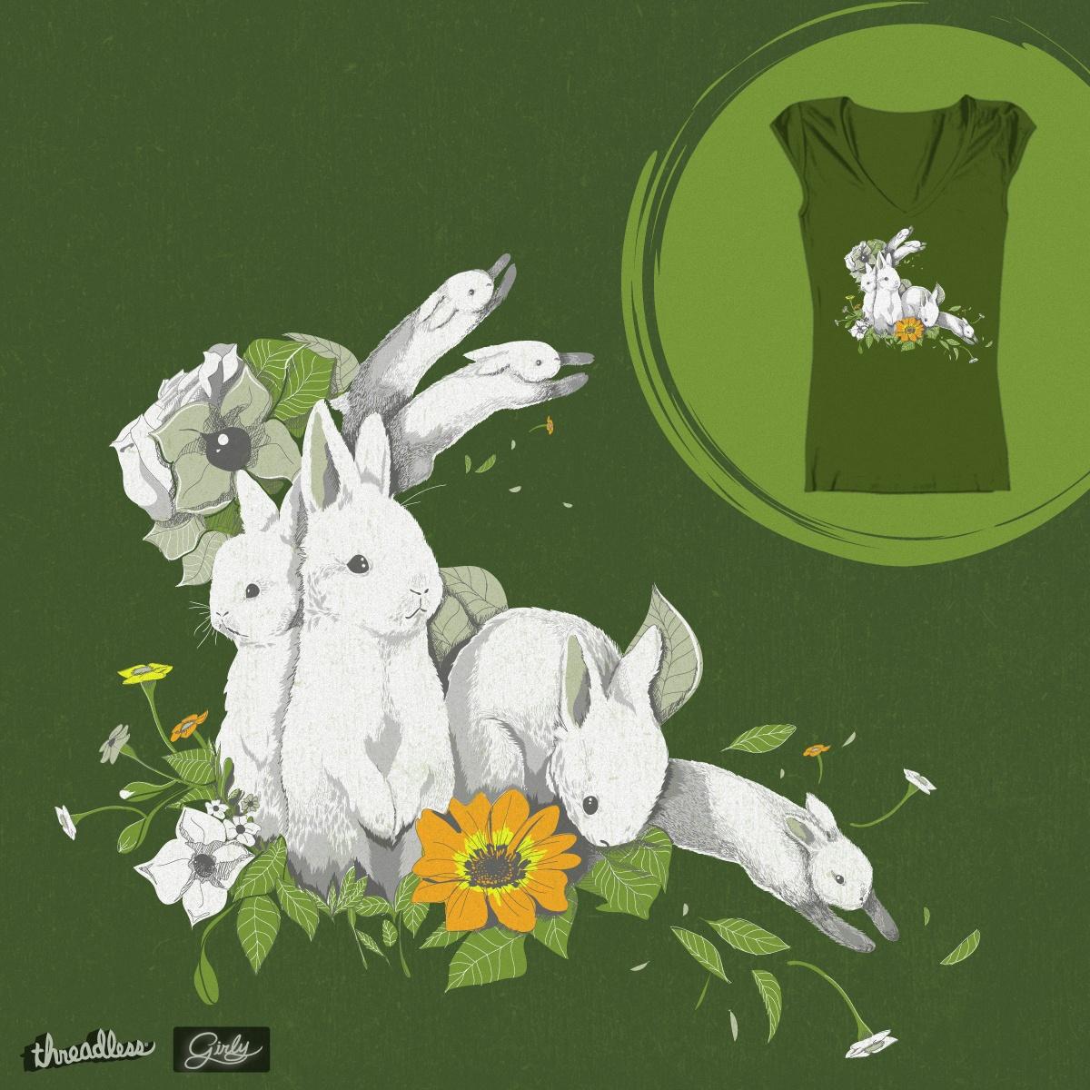 Bunnies by R0D on Threadless