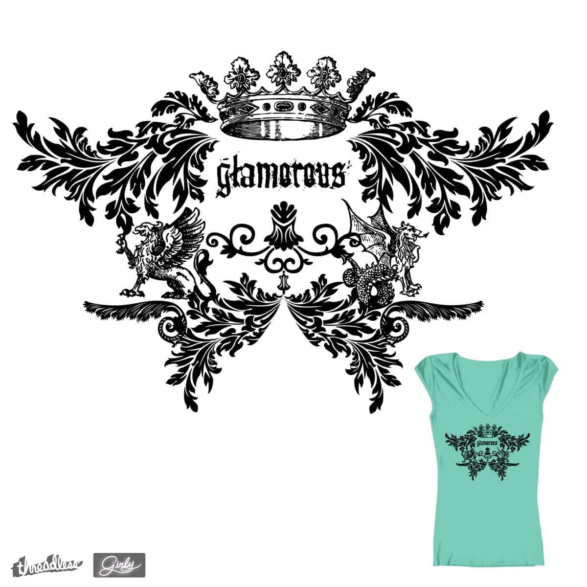 Glamorous by branded123 on Threadless