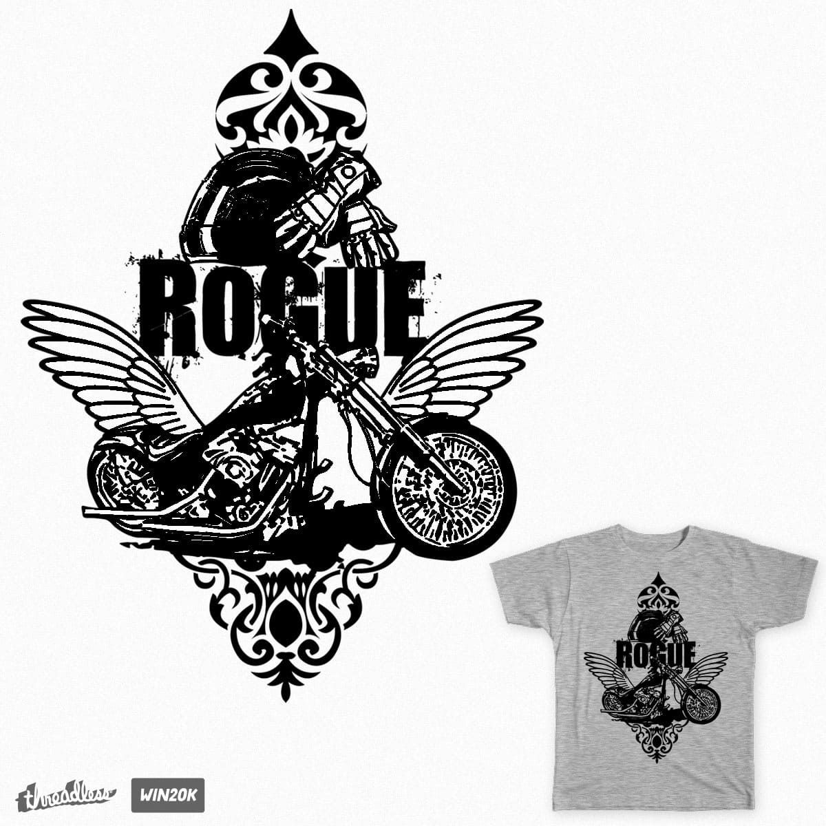 Rogue by branded123 on Threadless