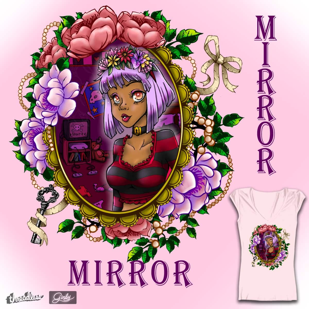 Mirror Mirror  by washue on Threadless
