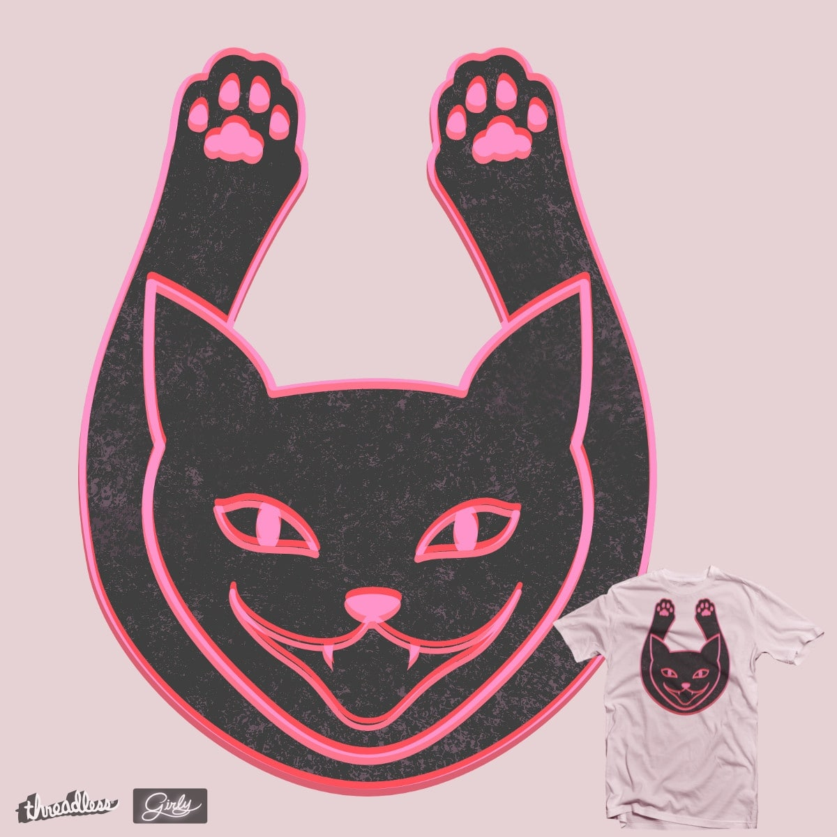 Gatos by hilektron on Threadless