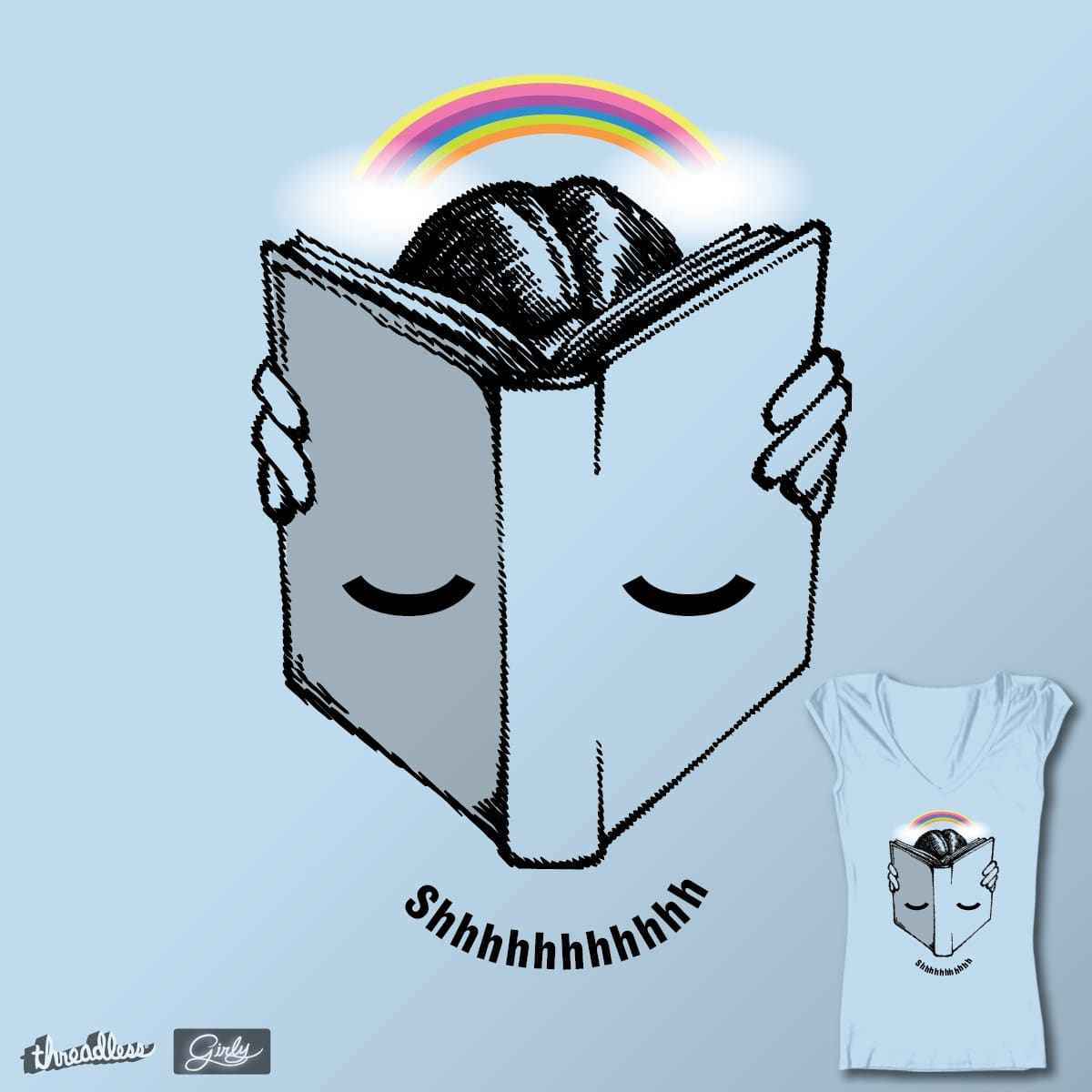 The Original Face Book by HomesliceTEES on Threadless