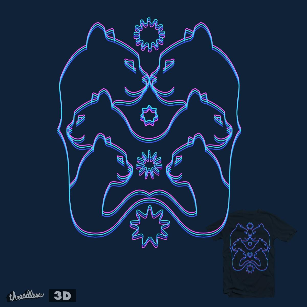 Shhamanic vision by hilektron on Threadless