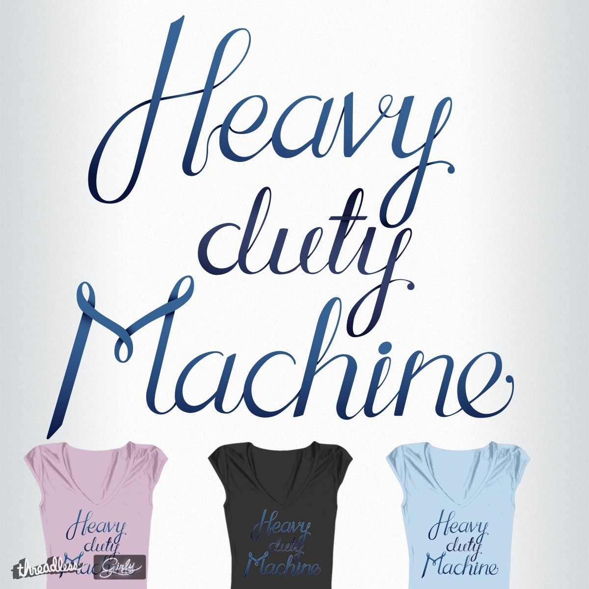 Heavy duty Machine by Ross_pl on Threadless