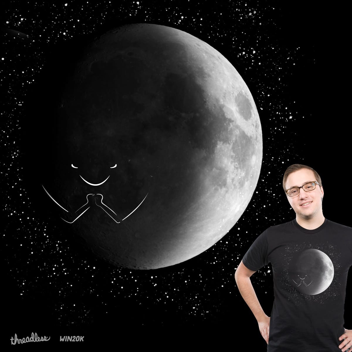 Dark Side Of The Moon by PolySciGuy on Threadless