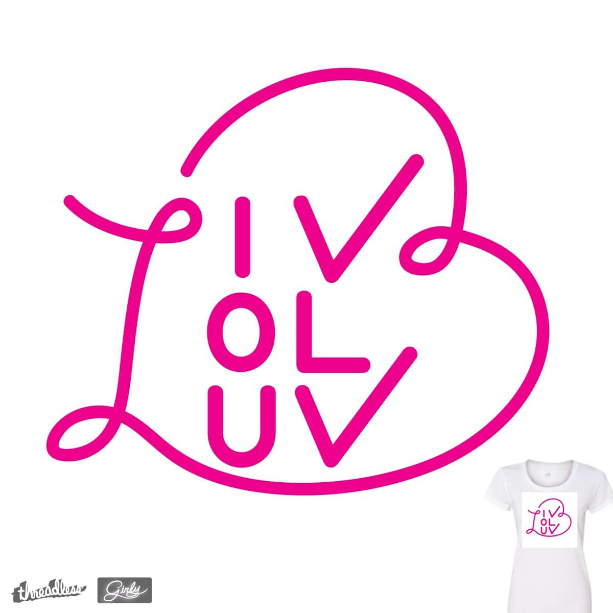 <3Scribble by F_A_D on Threadless