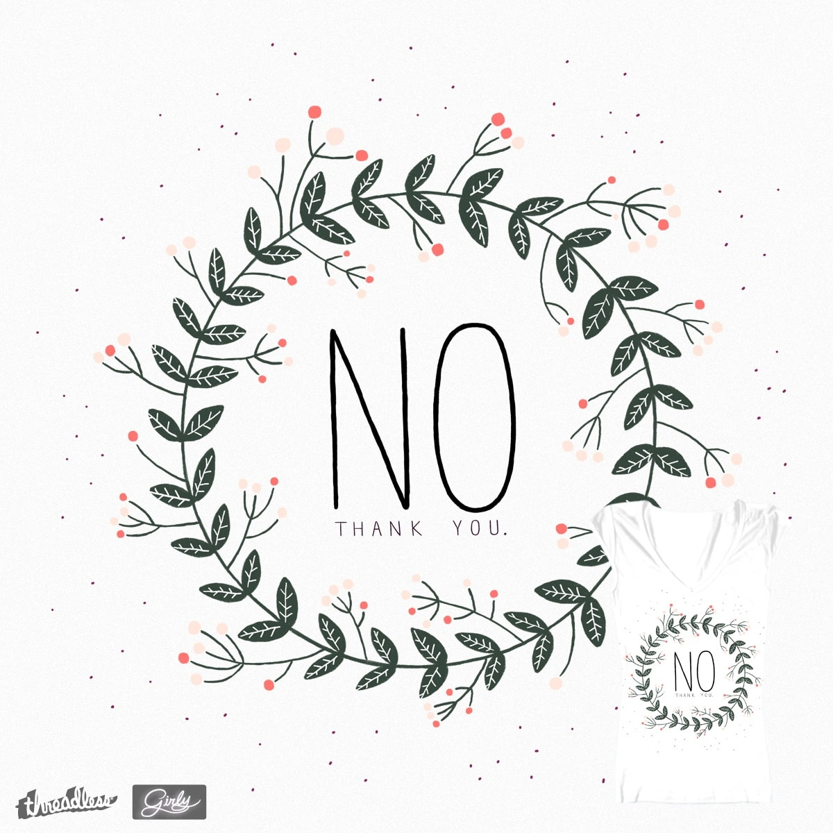 No. by agustina.paci on Threadless
