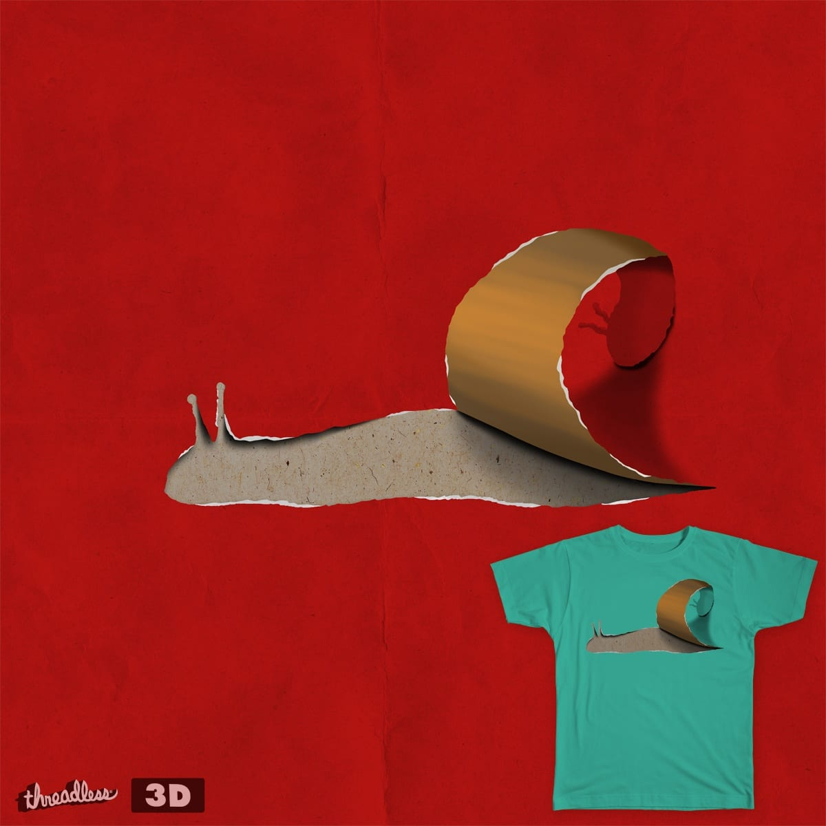 snail by gazonula on Threadless