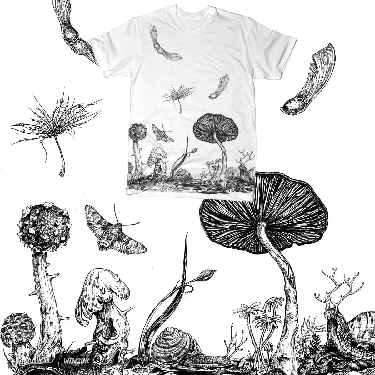 Forests Hem by JonHabens on Threadless