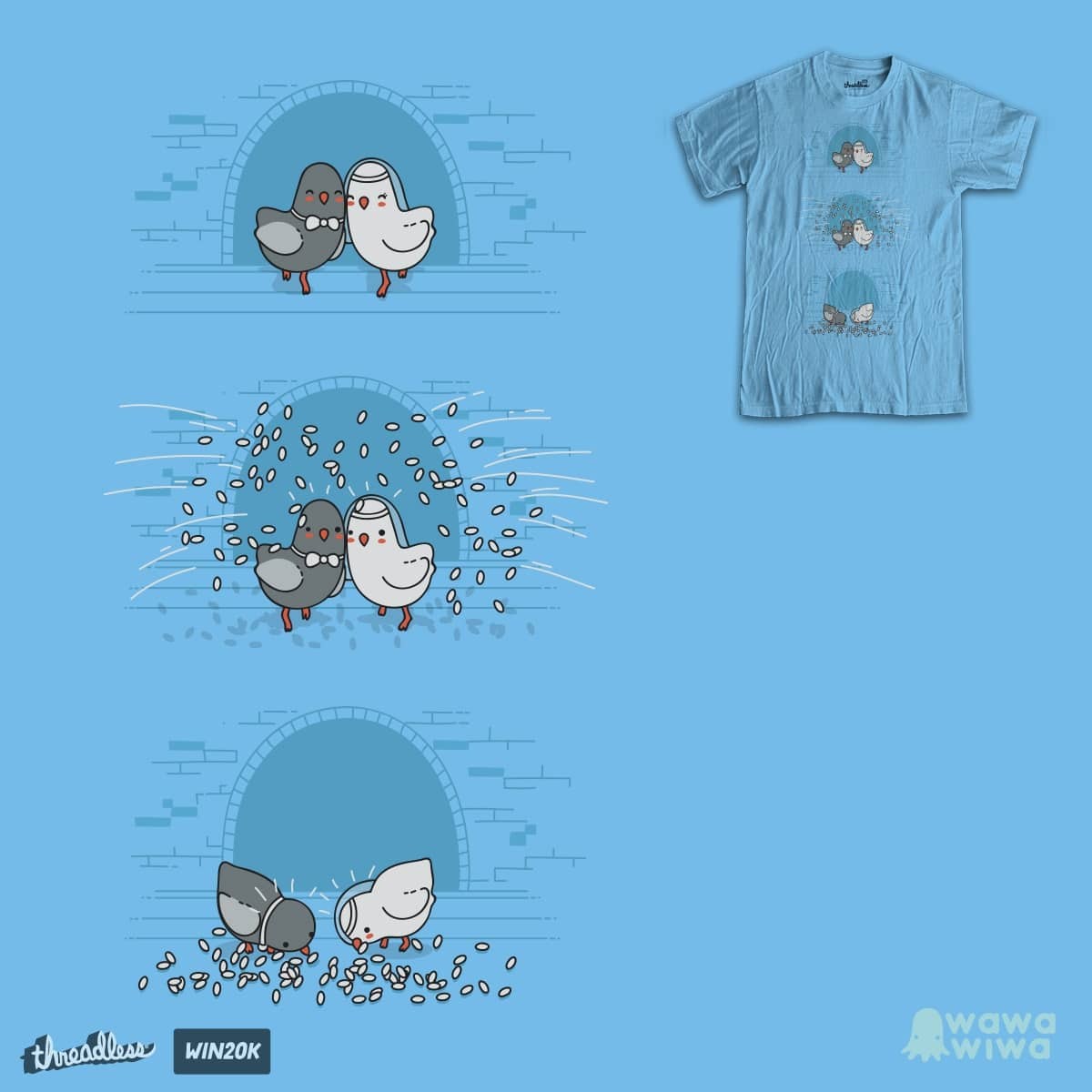 And then they blew up by Andres Colmenares on Threadless