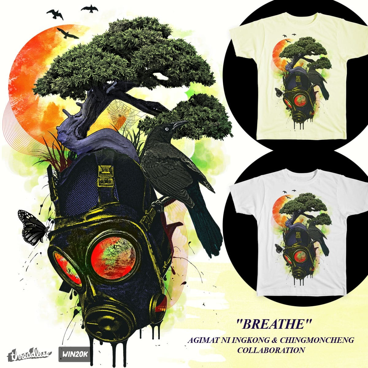 BREATHE by Agimat ni Ingkong and chingmoncheng on Threadless