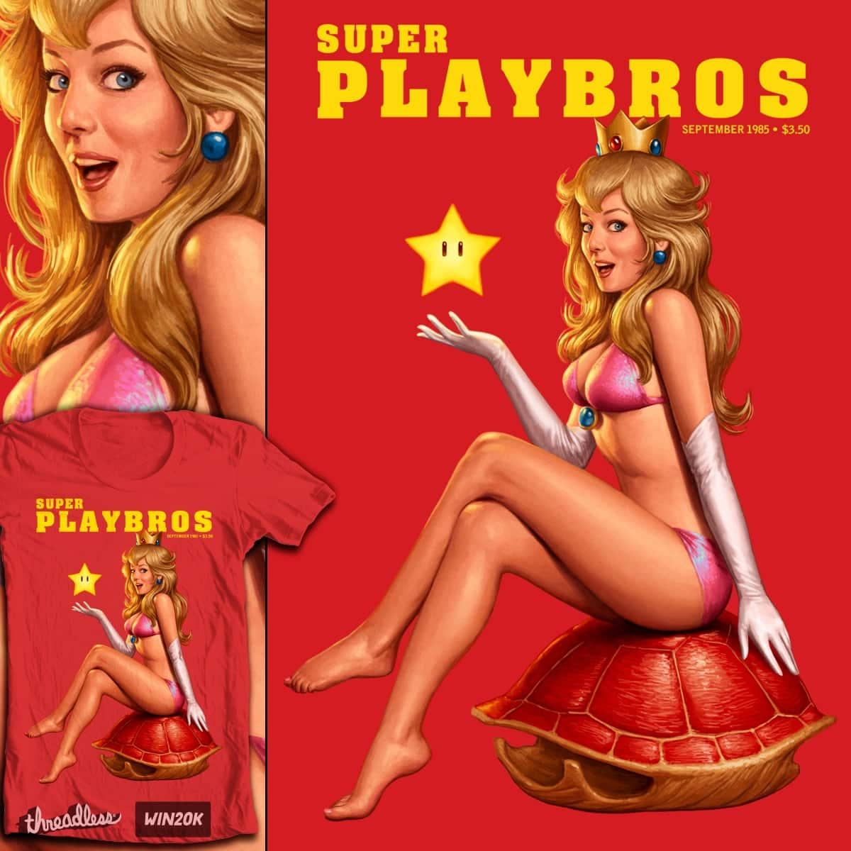 Super Playbros by Moutchy on Threadless