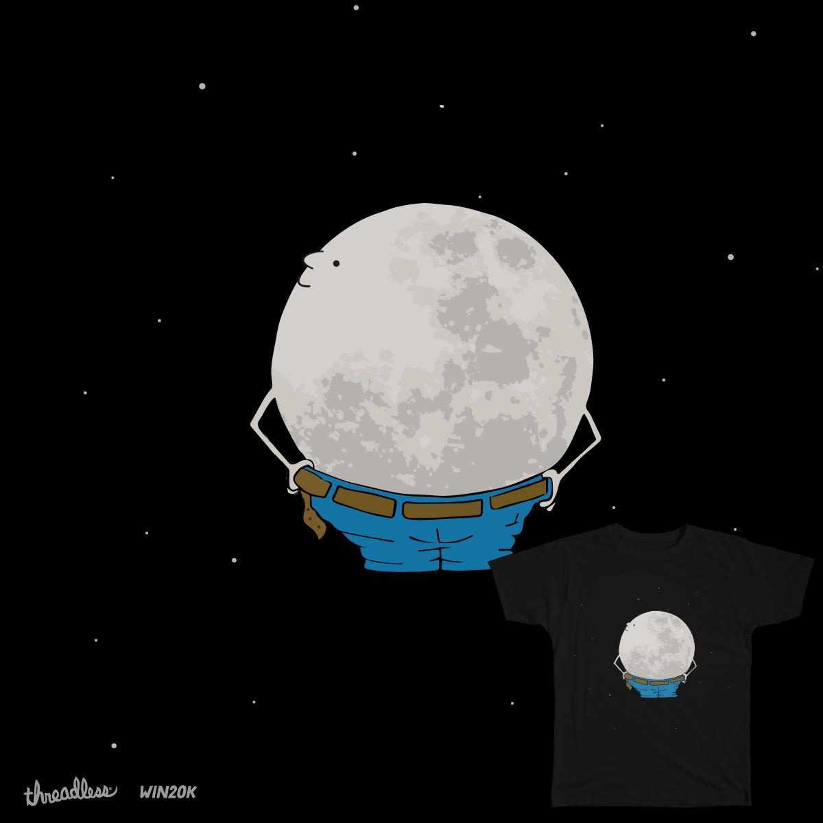 Full Moon by Vmorelli on Threadless
